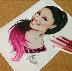 Nicki minaj drawing