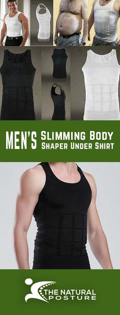 Men's Slimming Body Shaper Under Shirt The Natural Posture Slimming Body Shaper Under Shirt is specifically designed to reduce the appearance of Gynecomastia or man boobs. We ensure to provide comfort and boost self-esteem with our body shaper. Improve Posture, Male Body, Swagg, Golf Videos, Menswear, Shirts, Slim, Mens Fashion, Casual