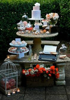 Sweet Peach Party, beautiful pinks and oranges party