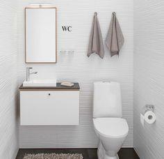 Small Bathroom, Bathroom Ideas, Toilet Paper, Vanity, Heart, Home Decor, Small Shower Room, Dressing Tables, Powder Room