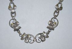 Vintage Art Deco Stunning Sterling Silver by TimesPastJewelry1