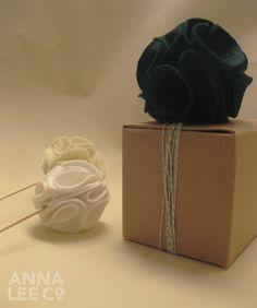 How To Make Felt Pom Poms: A Tutorial By Anna Lee Company | Bridal Musings