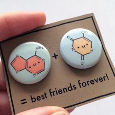 These pins so that you and your bestie can show everyone that you guys are smart AF. | 27 Gifts To Share With Your Best Friend