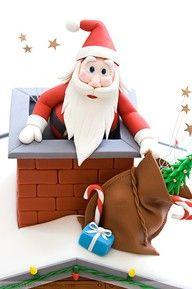 Santa Claus cake.