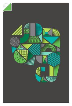 Evernote by Office, via Behance