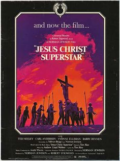 Jesus Christ Superstar Movie Poster, 1973 - Love this!