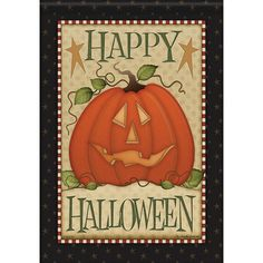 Buy Carson Country Halloween Dura Soft Double Sided Flag with free same day shipping and everyday low prices. This Halloween design features a smiling jack-o-la