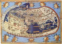 Ptolemy's world map, 2nd century CE