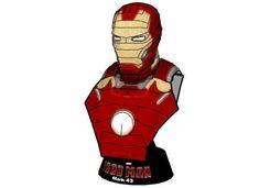 Iron Man Mark 43 (Mark XLIII) Bust Free Papercraft Download - http://www.papercraftsquare.com/iron-man-mark-43-mark-xliii-bust-free-papercraft-download.html#Avengers, #Bust, #IronMan, #Mark43, #MarkXLIII, #MarvelComics