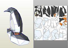 Arco bricolaje corte-papel modelo pingüino de 60 cm pdf