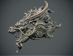 Kirin 3D art WIP by Zhelong XU ZHELONG XU is a Digital Artist from Shanghai, China. In this post you