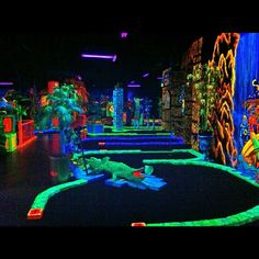 Putting Edge Glow In The Dark Mini Golf At Festival Bay