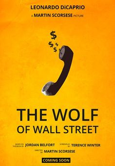 The Wolf Of Wall Street Minimal Movie Poster By Annabelle Ruiz