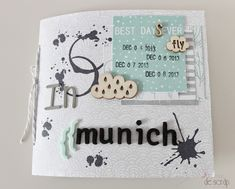 """Tuto mini """"In Munich"""" ...ici : http://www.lamardescrap.com/2014/05/tutorial-mini-album-munich.html"""
