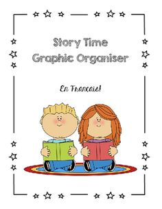 A cute and quick graphic organizer in the shape of a castle that will get your students thinking about the story they've just read. Happy back to school everyone! Enjoy this freebie! French Days, Graphic Organizers, Story Time, Back To School, Castle, Student, Organization, Shape, Comics