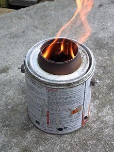 how to use a wood gas stove