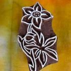 Indian Flowers | The Indian Block Company - all sorts of blocks available - african, mehndi, etc.