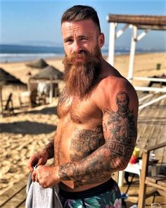 Lean Belly Workout And Diet Plan Get yours now! bearditorium: Daniel bearditorium: Daniel get lost with me April 25 2019 at Gay Beard, Epic Beard, Beard No Mustache, Walrus Mustache, Sexy Tattooed Men, Beard Lover, Hipster Man, Awesome Beards, Beard Tattoo