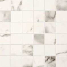 Daltile Marble View Calacatta Matte 12 in. x 12 in. x Color Body Porcelain Mosaic Tile Decorative Wall Tiles, Mosaic Wall Tiles, Dal Tile, Peel And Stick Tile, Stick Tiles, Smart Tiles, Calacatta, Porcelain Tile, Marble