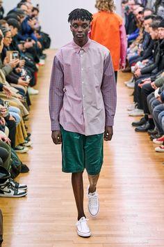 Comme des Garçons Shirt Fall 2019 Menswear Fashion Show Cool Outfits, Casual Outfits, Men Casual, Casual Clothes, Vogue Paris, Comme Des Garcons Men, Comme Des Garçons Shirt, Fashion Show, Mens Fashion