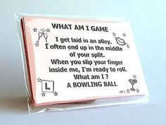 What Am I hen Game Cards Girls Night Out Party Do Dirty pink innuendo drinking