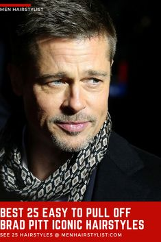 Discover the best easy pull-off Brad Pitt haircut ideas. Don't just dream about it, do it. Choose your favorite hairstyle from classic, faux hawk & more. Hairstyles Haircuts, Haircuts For Men, Brad Pitt Haircut, Faux Hawk, Just Dream, Pull Off, Hairstyle Ideas, Your Hair, Hair Cuts