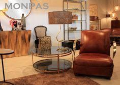 Cuero y acero juntos en nuestra butaca YORK. Un buen lugar para hacer una pequeña pausa ;) #Hanbel #Monpas #Furniture #Deco www.hanbel.com