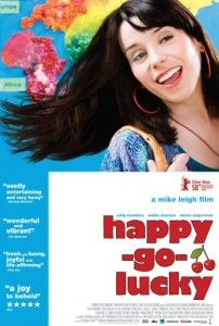 """Happy-Go-Lucky is a 2008 British film written and directed by Mike Leigh. The main character is a bachelor woman, Pauline """"Poppy"""" Cross (Sally … Movies And Series, Movies And Tv Shows, Tv Series, Internet Movies, Movies Online, Happy Fresh, Valentines For Singles, Female Friendship, Life Affirming"""