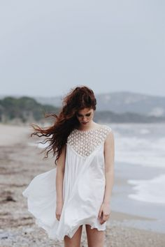 White summer dress | Theodore Manolopoulos