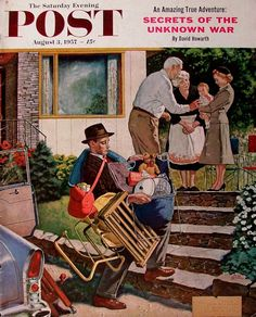 Norman Rockwell - Saturday Evening Post - 1957