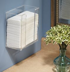 Paper Guest Hand Towel Holders & Baskets | My Paper Shop