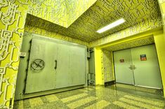 Top Places to Survive the End of the World. The Greenbrier Bunker, West Virginia ...on a side note: so, what are the chances of anyone getting in any of these places? HA