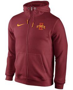 Nike Men's Iowa State Cyclones Club Rewind Full-Zip Hoodie