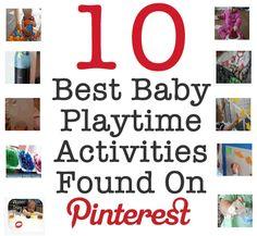 10 Best Baby Playtime Activities Found on Pinterest