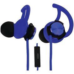 ECKO UNLIMITED EKU-ROG-BL Rogue Hybrid Earbuds with Microphone (Blue)