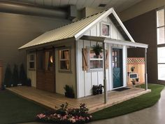Tidy conceptualized shed building pole barns Holiday Sale Building A Storage Shed, Shed Building Plans, Storage Shed Plans, Built In Storage, Custom Sheds, Large Sheds, Shed Homes, Kit Homes, Build Your Own House