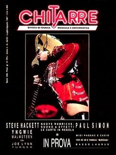 1987 yngwie malmsteen for Chitarre magazine