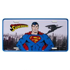 Placa para Parede Superman