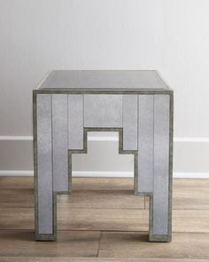Art Deco side table (Easy DIY!)