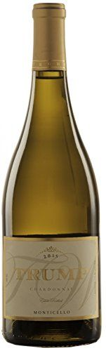 2015 Trump Winery Chardonnay 750 mL White Wine -- Continue to the product at the image link.