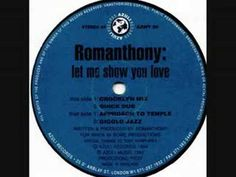 """Romanthony """" Let Me Show You Love """" 1994"""