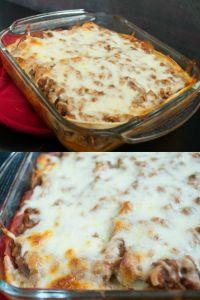 Mexican Taco Lasagna - easy and delicious!