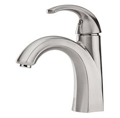 Pfister  Selia Single Control, Centerset Bath Faucet  Residential Grade      Available Finishes:     Polished Chrome Brushed Nickel Shown: Brushed Nickel     Model #: F-042-SLKK     List Price: $156.00