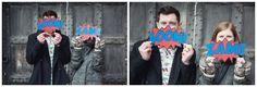 Batman comic strip pre-wed shoot | LifeLine Photography