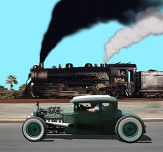 Rat Rod Race!..Re-pin..Brought to you by #CarInsurance at #HouseofinsuranceEugene