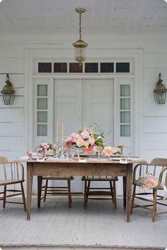 veranda dinner