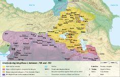 Urartu 715-713 BC  // precursor to Armenia