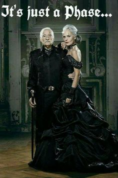 Image from a gothic clothing catalog.