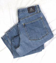 Levi's SilverTab Baggy Jeans 33 x 32 Big True Vintage Retired Medium Blue Denim #Levis #BaggyLoose