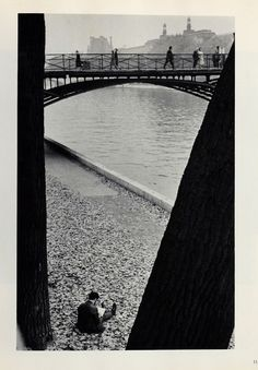 "André Kertész, (Image taken from ""André Kertész: J'aime Paris, Photographs Since the Twenties,"" New York: Grossman, 1974)"